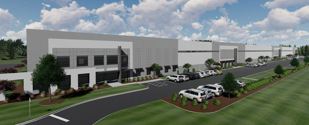 Magnus Development Breaks Ground on 192,780 SF Spec Industrial Building